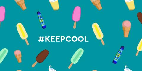 #KEEPCOOL: DER SOMMER IST DA